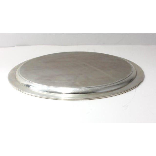 Metal Mid-Century Modern Tiffany & Co Sterling Silver Tray For Sale - Image 7 of 10