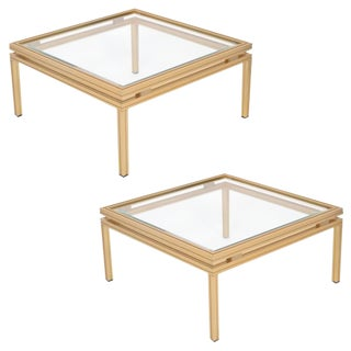 French Pierre Vandel Side Tables - a Pair