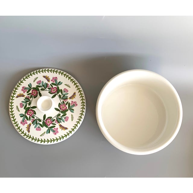 English Portmeirion Botanic Garden Rhododendron Covered Casserole Tureen For Sale In Miami - Image 6 of 12