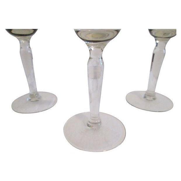 Gold Banded Cocktail Glasses - Set of 4 - Image 3 of 5