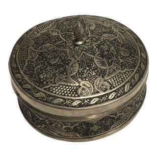 Silver Engraving Sweet Box