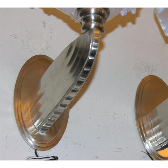 Ezan French Art Deco Wall Sconces For Sale - Image 4 of 5