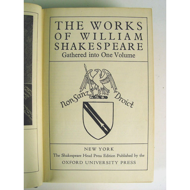Antique 'The Works of William Shakespeare' Book - Image 4 of 5
