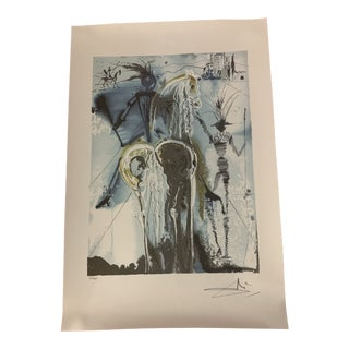 "Salvador Dali Print ""Don Quiochette"" For Sale"