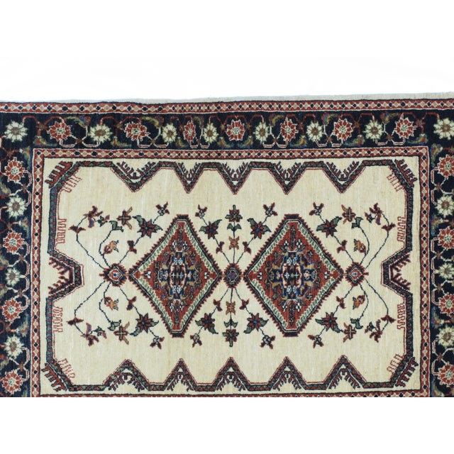 "Leon Banilivi Kashkuli Rug - 2'10"" X 3'10"" For Sale - Image 4 of 6"