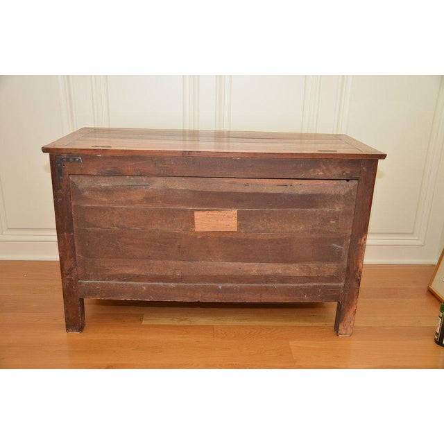 Antique French Lift Top Ice Chest Cabinet - Image 7 of 10