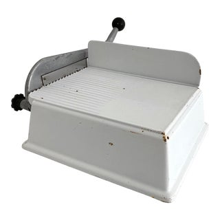 French La Fromagerie Enamel Cheese Slicer For Sale