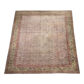 Sultanabad Persian Rug - 9′ × 11′9″ For Sale