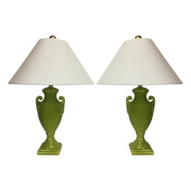 Image of Chartreuse Table Lamps