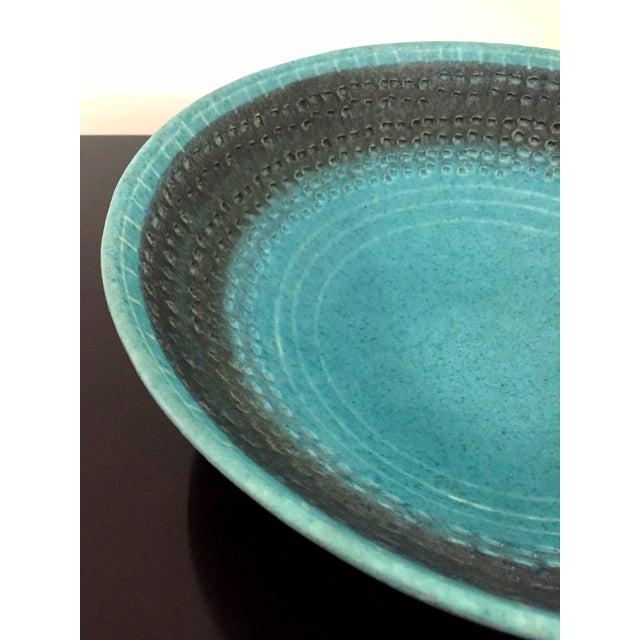 Italian Vintage Italian Raymor Bitossi Pottery Bowl For Sale - Image 3 of 6
