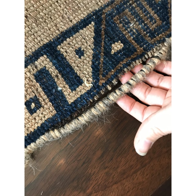 """Taupe 1970s Vintage Turkish Rug-2'8'x5'10"""" For Sale - Image 8 of 11"""