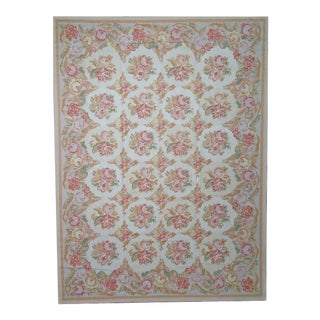 """Pasargad Aubusson Hand Woven Wool Rug - 9'10"""" X 14' 2"""""""