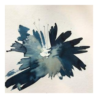 Contemporary Cyanotype Painting by Jennifer Elia
