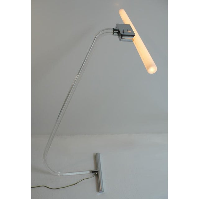 Mid-Century Modern Rare Crylicord Floor Lamps For Sale - Image 3 of 5