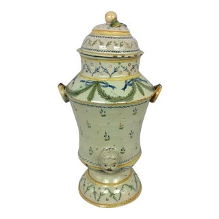 18th Century French Louis XVI Style Provencal Ceramic Centerpiece For Sale