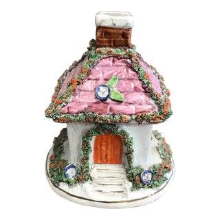 Staffordshire Cottage Figurine For Sale