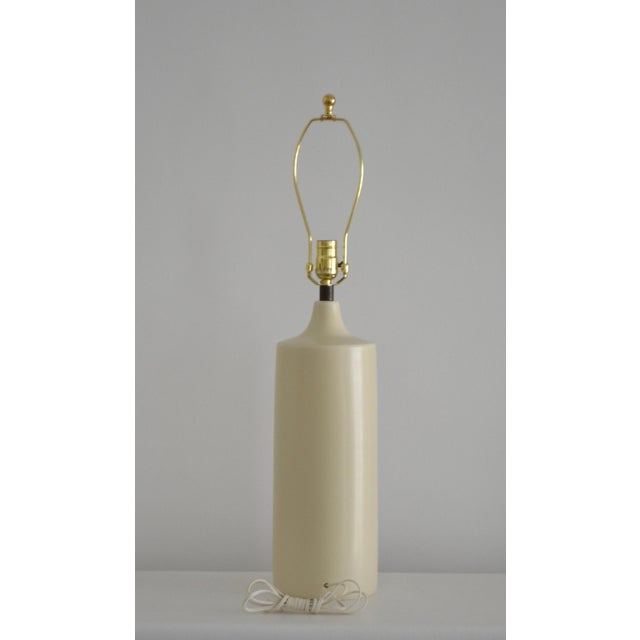 1960s 1960s Mid-Century Bottle Form Table Lamp For Sale - Image 5 of 12