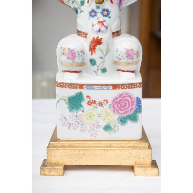 Chinese Warrior as a Table Lamp - Image 8 of 9