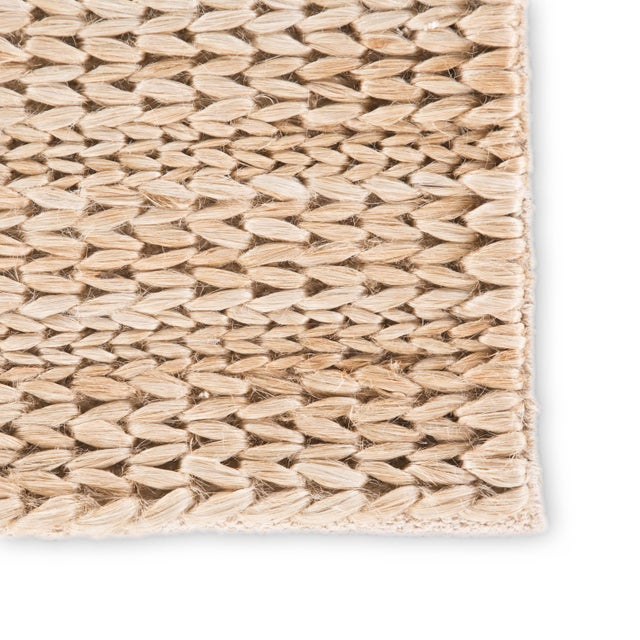 Contemporary Jaipur Living Poncy Natural Tan Area Rug - 8′ × 10′ For Sale - Image 3 of 6