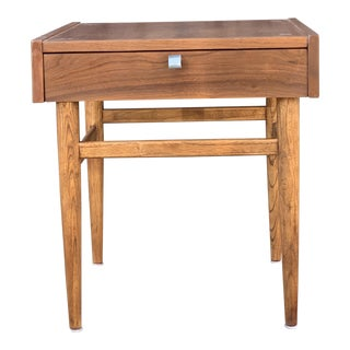 Single Mid Century Nightstand by American of Martinsville For Sale