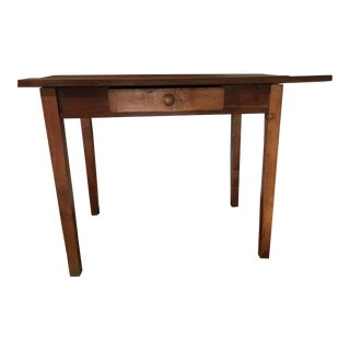 19th Century Rustic Farm Table For Sale