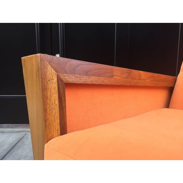 Jens Risom Mid Century Modern Lounge Chair For Sale - Image 4 of 5