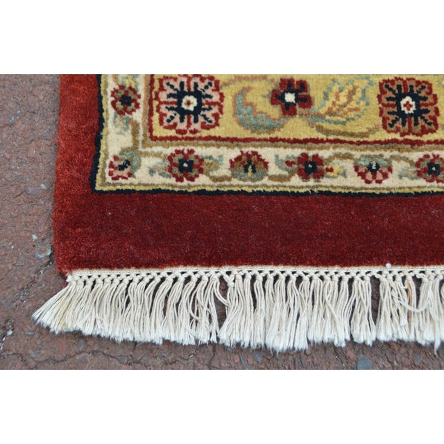 Textile Isfahan 12x16 Hand Knotted Persian Rug For Sale - Image 7 of 10