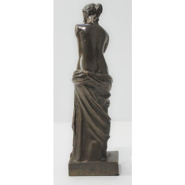 Antique Grand Tour Venus De Milo Bronze Figure For Sale In West Palm - Image 6 of 13
