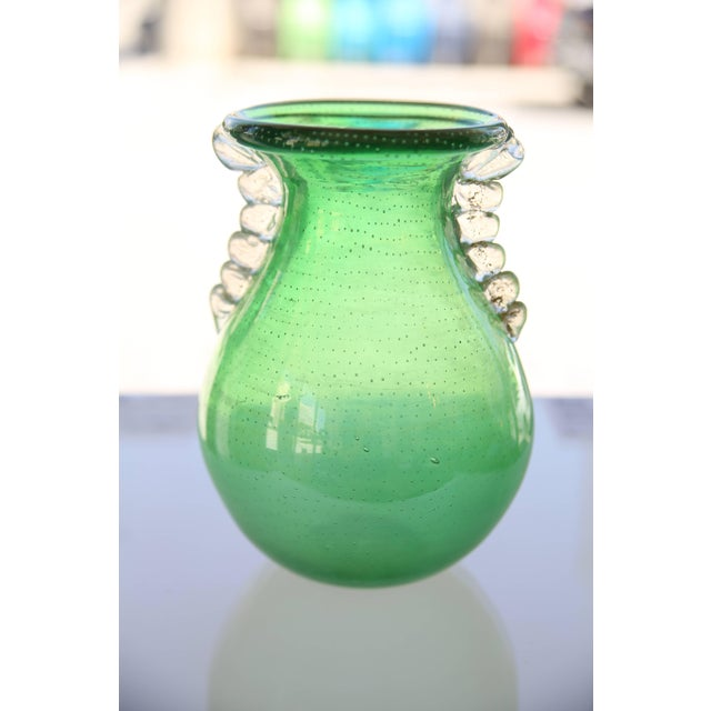 This stylish piece of Murano glass was acquired from a Palm Beach estate and was created in the early part of the 20th...