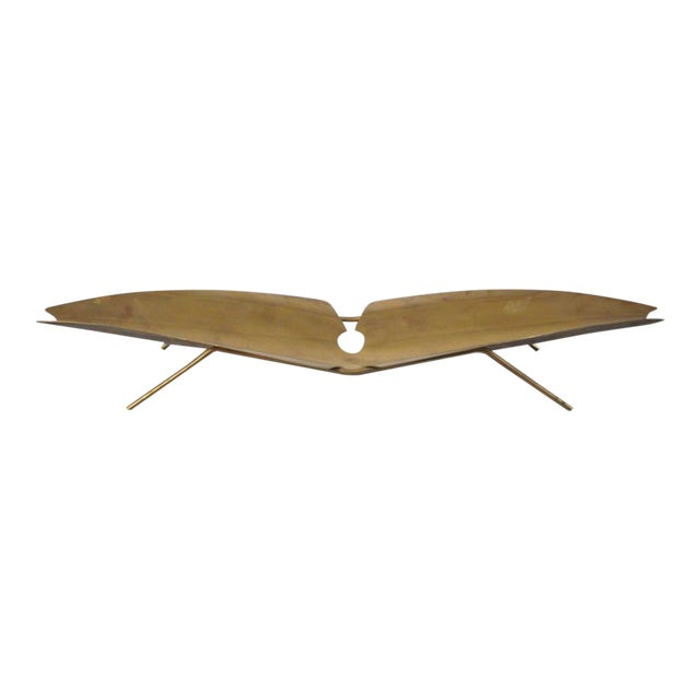 Brass Tray Designed by Kupetz for Wmf For Sale