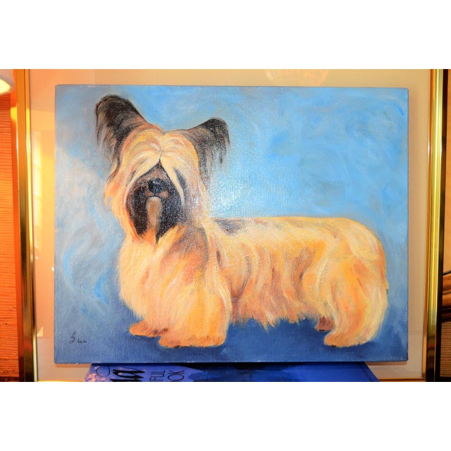 Yorkshire / Skye Terrier Acrylic Painting - Image 6 of 10