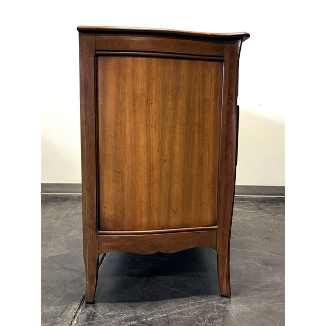 Davis Cabinet French Provincial Solid Cherry Dresser - Image 6 of 11
