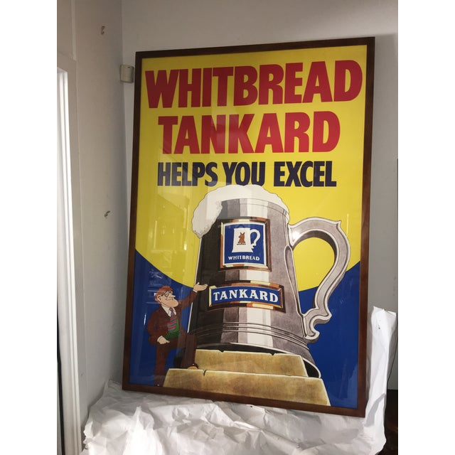 Original English Whitbred Tankard Ales Poster - Image 3 of 11