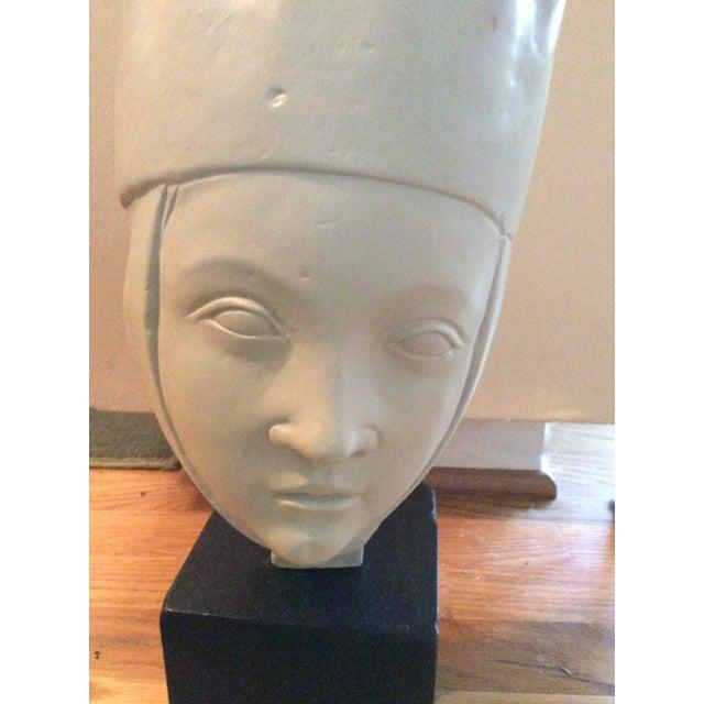 1960s 1960s Vintage Alva Studios Woman's Head Sculpture For Sale - Image 5 of 11