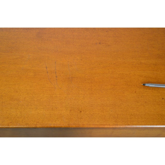 Country Antique 19th Century Poplar Dovetailed Lidded Chest Wood Box For Sale - Image 11 of 12