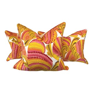 Custom Trina Turk Outdoor Pillows - Set of 3
