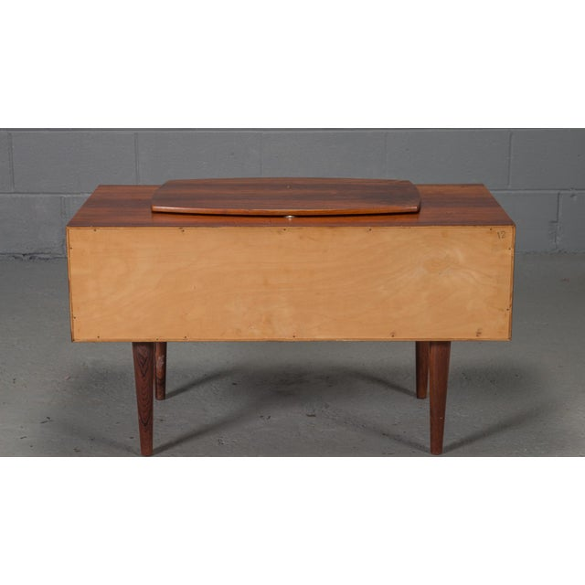 1950s Danish Modern Kai Kristiansen Rosewood Chest For Sale - Image 9 of 11