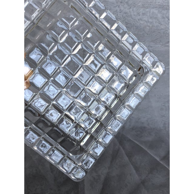 1950s 1950s Mid-Century Modern Glass Tray For Sale - Image 5 of 12
