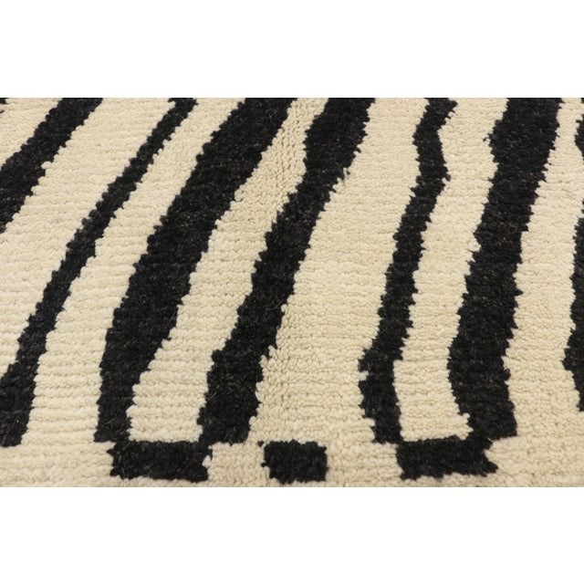 Berber Tribes of Morocco Contemporary Moroccan Area Rug- 10′3″ × 13′10″ For Sale - Image 4 of 10