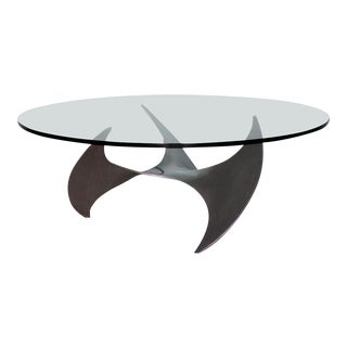 1960s Danish Modern Knut Hesterberg Propeller Coffee Table For Sale
