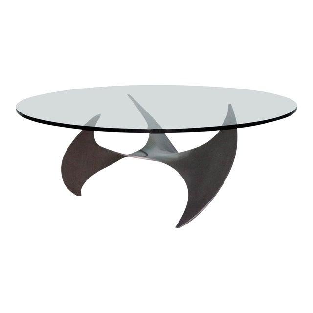 1960s Danish Modern Knut Hesterberg Propeller Coffee Table For Sale