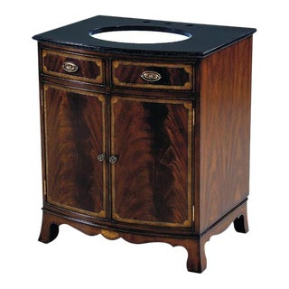 Scarborough House Small Crotch Vanity Chest For Sale