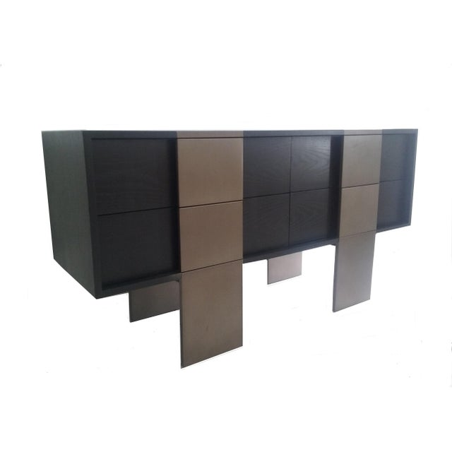 Modern Kelly Hoppen Collection for Century Furniture Storage Console For Sale - Image 3 of 11