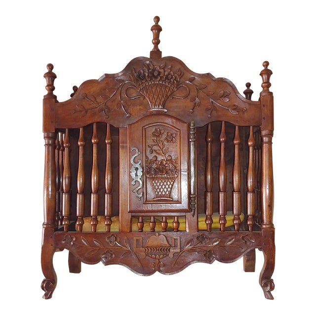 Antique French Walnut Panatier For Sale