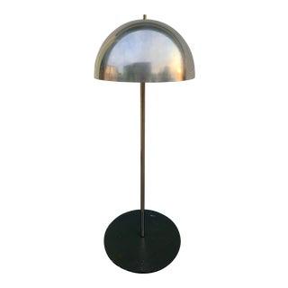 Vintage Stone Base Mushroom Floor Lamp For Sale