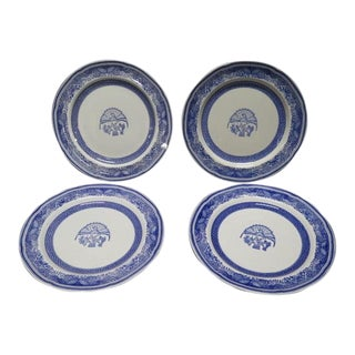 Spode Blue Heritage Salad Plates - Set of 4 For Sale