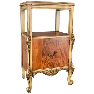 Early 20th Century Satinwood Nightstand For Sale