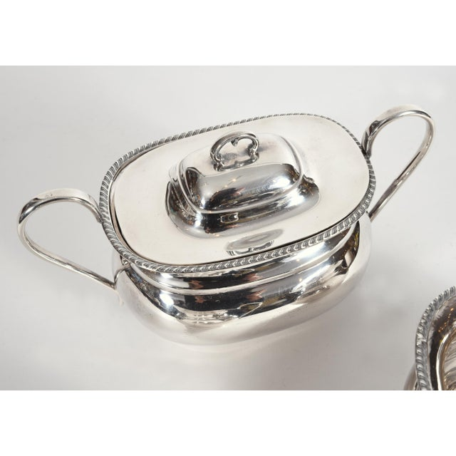 Vintage English Sheffield Sterling Silver Tea / Coffee Service - 5 Pc. Set For Sale - Image 9 of 13