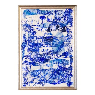 Abbi Custis Blue Crush Contemporary Painting For Sale