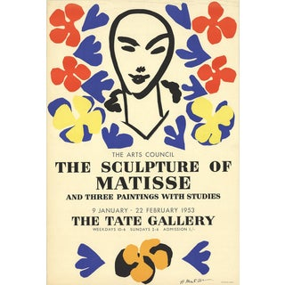 Henri Matisse, the Sculpture of Matisse, 1953, For Sale